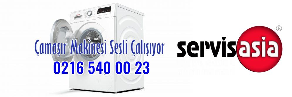 Çamaşır Makinesi Sesli Çalışıyor