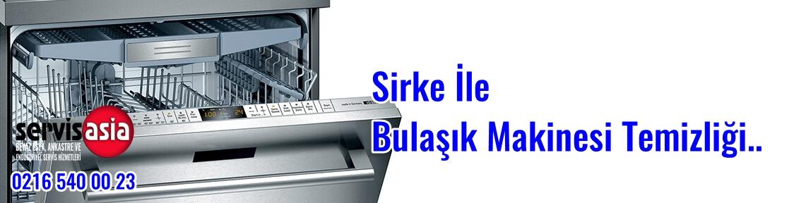 Sirke İle Bulaşık Makinesi Temizliği